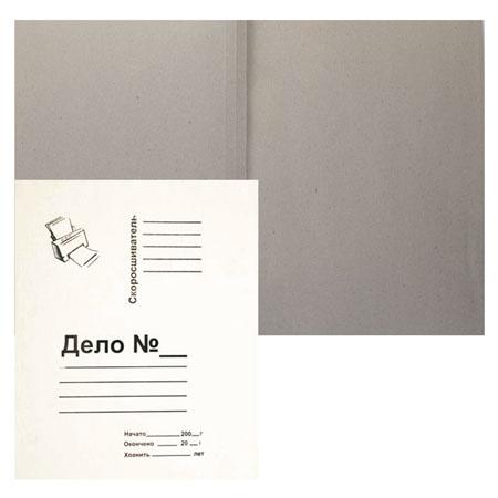 Обложка Дело   А4, толщина картона 0,36-0,38мм, плотность 260г/кв.м., картон, цвет белый КиБ