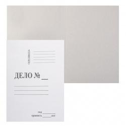 Обложка Дело А4, толщина картона 0,50мм, плотность 360г/кв.м, картон, цвет белый 66580