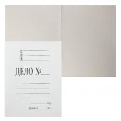Обложка Дело 0,8мм 360г/м мелованный L-01-308 белая