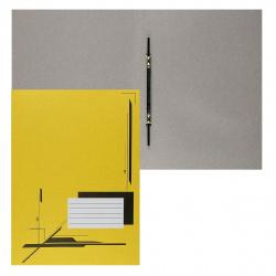 Скоросшиватель 0,3мм 260г/м Attomex 3112412 желтый