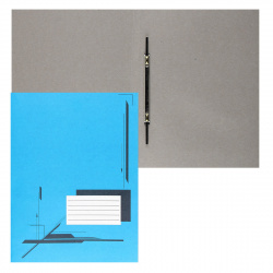 Скоросшиватель 0,3мм 260г/м Attomex 3112414 синий