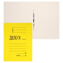 Скоросшиватель 0,4мм 260-280г/м мелов L-02-614/SK260Myel/816453 желтый
