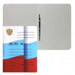 Скоросшиватель 0,6мм 360г/м Флаг мелованный 124574/L-02-516