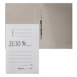Скоросшиватель 0,8мм 350-400г/м L-02-138 белый
