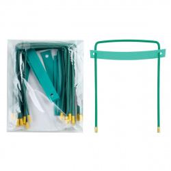 Механизм для скоросшивателя   металл, цвет зеленый Attache 130792