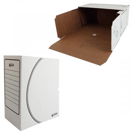 Короб архивный 150мм гофрокартон 1801 белый