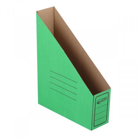 Накопитель вертикальный 75мм гофрокартон 1455 зеленый