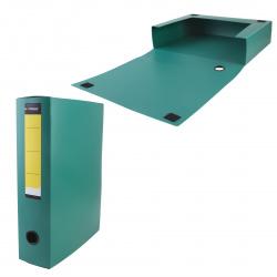 Короб архивный 320*260мм, пластик, на липучке, цвет зеленый inФОРМАТ NB6375G