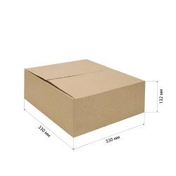 Короб для хранения 330*330*132мм, гофрокартон, коричневый №22