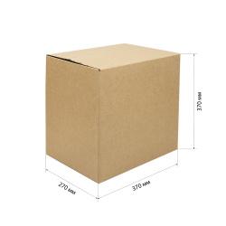 Короб для хранения 370*270*370мм, гофрокартон, коричневый №25