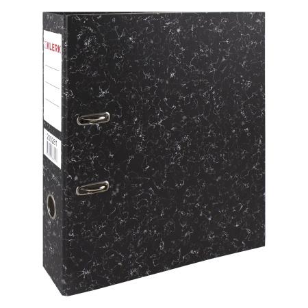 Регистратор А4, ширина корешка 70мм, картон KLERK 200281