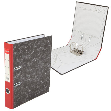 Регистратор А4, ширина корешка 75мм, картон KLERK 200025-7