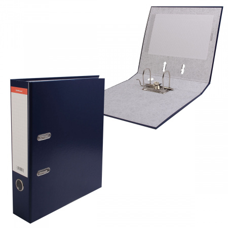 Регистратор А4, ширина корешка 70мм, картон, покрытие ПВХ Стандарт Erich Krause 271