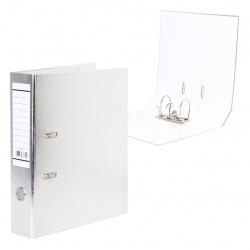 Регистратор А4, ширина корешка 70мм, картон, покрыт бумвинилом Metallic Hatber 70ПР4_03426
