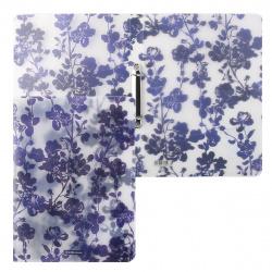 Папка с 2 кольцами 24мм d-16мм 0,55мм Erich Krause Crystal Flowers 52811