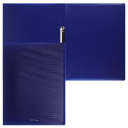 Папка с 2 кольцами 24мм d-16мм 0,8мм Erich Krause Megapolis 46002 черн
