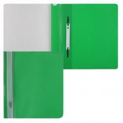 Папка-скоросшиватель пласт А5 0,18мм ASp_05104/AS5_00104 зел