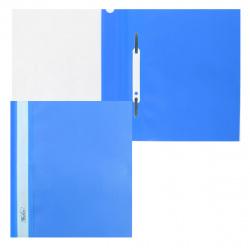 Папка-скоросшиватель пласт А5 0,14/0,18мм ASp_05102/AS5_00102 син