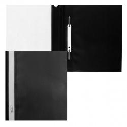 Папка-скоросшиватель пласт А5 0,18мм ASp_0101 черн