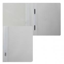 Папка-скоросшиватель пласт А5 0,14/0,18мм ASp_00100 белая