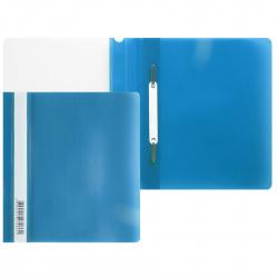 Папка-скоросшиватель пласт А5 0,14/0,18мм PSL20a5BLUE/346248 син