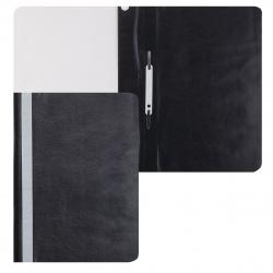 Папка-скоросшиватель пласт А4 0,1/0,12мм ASp_04601 черная