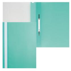 Папка-скоросшиватель пласт А4 0,16мм Asp_04304 зел