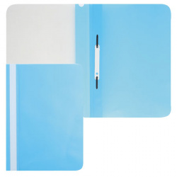 Папка-скоросшиватель пласт А4 0,16мм Asp_04310/ASp_04310 голуб