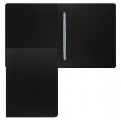 Папка-скоросшиватель пласт/пласт 0,50мм 15мм KLERK 190929 черн