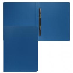 Папка-скоросшиватель пласт/метал 0,50мм 15мм KLERK 190935 син