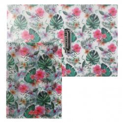 Папка с зажимом Tropical Nature А4, пластик, 1 зажим, цвет рисунок Tropical Nature Erich Krause 49379