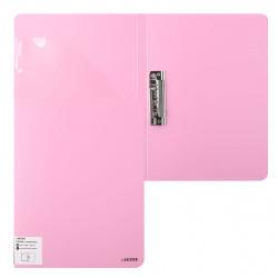 Папка с зажимом с карм 0,65мм 16мм deVENTE Pastel 3110802 роз