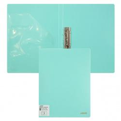 Папка с зажимом с карм 0,65мм 16мм deVENTE Pastel 3110801 бирюз