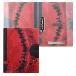 Папка с зажимом 0,70мм 14мм Hatber Ifresh Арбуз AC4_11264