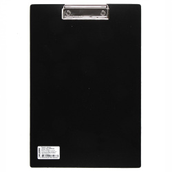 Планшет с зажимом А4 пластик 1,5мм KLERK 190967 черн
