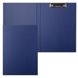 Планшет с зажимом А4, картон, покрытие ПВХ, цвет синий Classic Expert Complete EC18822
