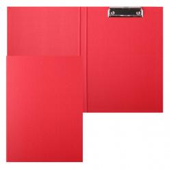Планшет с зажимом А4, картон, покрытие ПВХ, цвет красный Classic Expert Complete EC18824