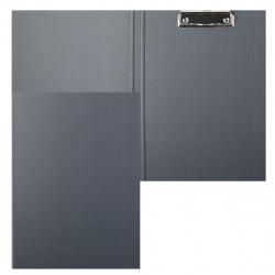 Планшет с зажимом А4, картон, покрытие ПВХ, цвет серый Classic Expert Complete EC188215
