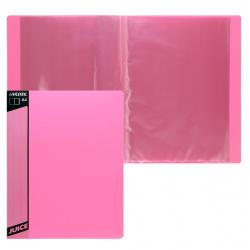Папка 10 файлов 0,45мм deVENTE Juicy 3100901 розовая