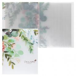 Папка 20 файлов 0,40мм КОКОС Flowers 209119