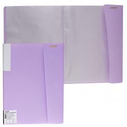 Папка 20 файлов 0,50мм 17мм торц карм deVENTE Pastel 3101803 сирен