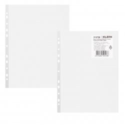Файл А4, плотность 30мкм, 25шт, поверхность глянцевая Премиум KLERK 213726