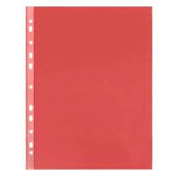Файл А4+ (30мкм) 50шт/уп глянец Премиум 013red/817150 красный