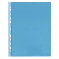 Файл А4+ (30мкм) 50шт/уп глянец Премиум 013blue/817152 синий