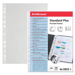 Файл А4 (40мкм) 100шт/уп Erich Krause Fizzy Clear 46701