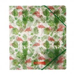Папка на резинке А5+ 0,55мм Erich Krause Tropical Flamingo 49356