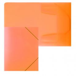 Папка на резинке А4 0,40мм Erich Krause Neon 47142 оранж