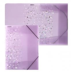 Папка на резинке А4 0,40мм deVENTE Crystal Dream 3070903 сирен
