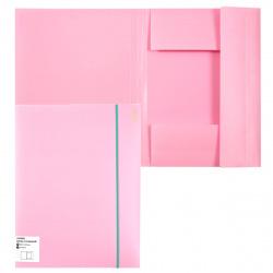 Папка на резинке А4 0,45мм deVENTE Pastel 3070802 роз