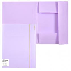 Папка на резинке А4 0,45мм deVENTE Pastel 3070803 сирен
